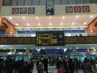 Marrakech railway station, 2015