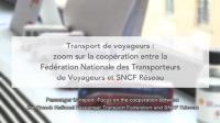 """ILCAD 2019 """"Transport de voyageurs : zoom sur la coopération entre la FNTV et SNCF Réseau"""", 6 juin 2019"""