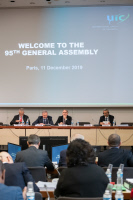 95th UIC General Assembly, 11 December 2019, UIC Headquarters, Paris