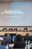 95ème Assemblée générale de l'UIC, 11 décembre 2019, siège de l'UIC, Paris