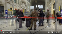 [ITALY] Police, army enforce lockdown measures at Milan train station