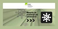 [ESPAGNE] Mesures de prevencio pel coronavirus [mesures de prévention de FGC face au coronavirus]