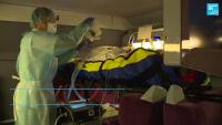 """[FRANCE] Le train """"hôpital"""" à grande vitesse transporte les patients français atteints de coronavirus"""