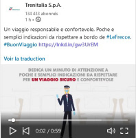 [ITALY] Semplici indicazioni da rispettare a bordo de Le Frecce [A few simple guidelines to follow on board in Le Frecce trains]