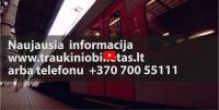 [LITUANIA] Dar saugesnės traukinių kelionės karantino metu! [Even safer train travel during quarantine!]