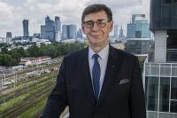 Nouveau Président de l'UIC, M. Krzysztof Mamiński, PKP (2021/07-)